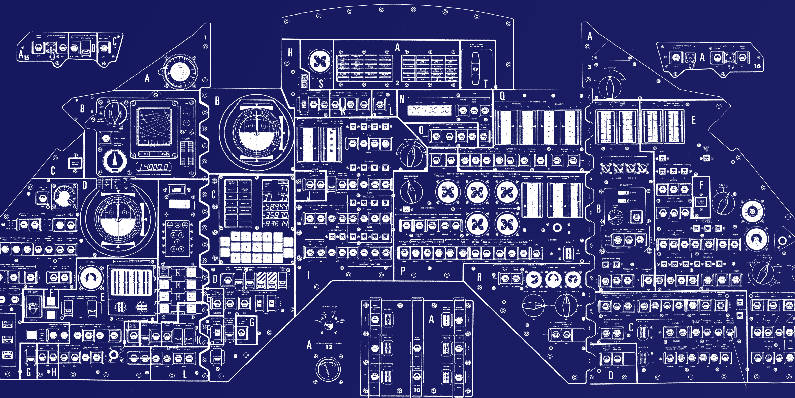 Command module blueprint